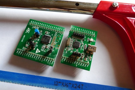 Cut your STM32 Discovery board in half - Other